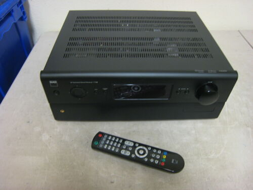 NAD T 748 AV Surround Sound Receiver with Remote bundle free U.S. shipping