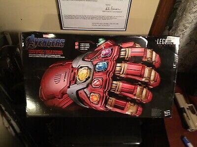 Marvel Legends Endgame Ironman Electronic Infinity Nano Power Gauntlet