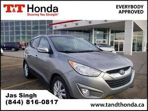 2012 Hyundai Tucson L Limited *Heated Seats, Bluetooth, Leather*