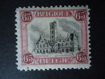 Belgique Belgîe Belgium year1920 -  cob:182 MH*