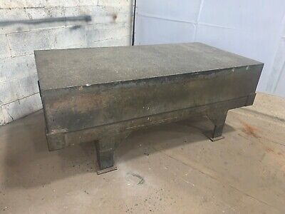 36 X 72 X 12 Doall Grade B Granite Surface Plate With Stand Ybm 11273