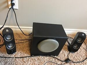 Computer speakers by Logitech