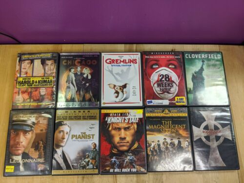 Movie Lot (10) Movies Bundle | Romance Thriller Comedy Action Horror