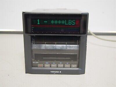 Yokogawa Ur1000 436004d2 Digital Chart Recorder