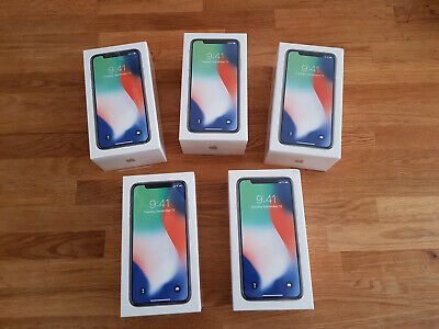 Brand New Apple iPhone X 64GB Factory Unlocked Smartphone - Silver