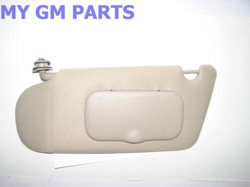 1997-2005 MALIBU DRIVERS SIDE SUNVISOR NEW GM #  15783922