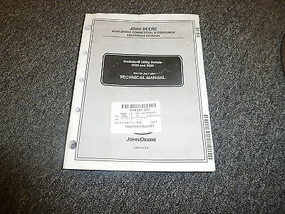 John Deere Progator 2020 2030 Shop Service Repair Technical Manual Tm1759