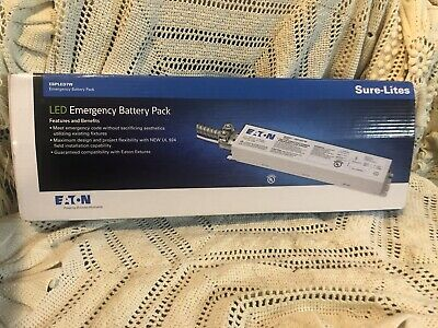 New Eaton Led Emergency Battery Pack- Sure-lites Ebpled7w
