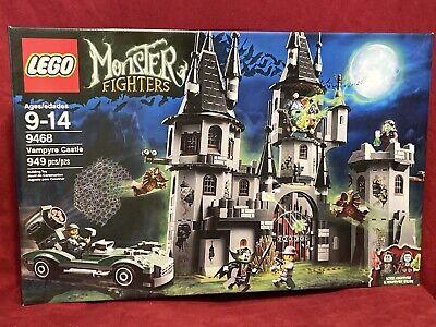 2012 LEGO Monster Fighters 9468 Vampyre Castle NEW RETIRED Sealed Box