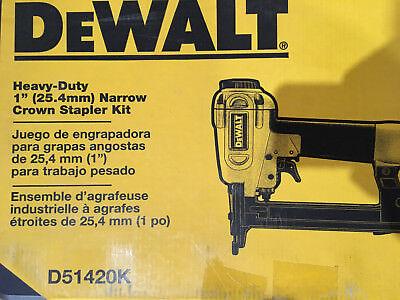 Dewalt Heavy Duty Nailer Kit (Dewalt D51420K Heavy Duty 1