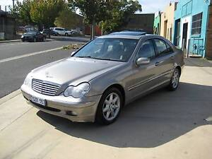 2004 Mercedes-Benz C240 ALL EXTRAS SUNROOF REG 7/17 RWC $5588 Heidelberg Heights Banyule Area Preview
