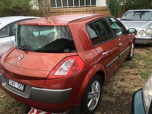 2003 Renault Megane Hatchback Sunshine North Brimbank Area Preview