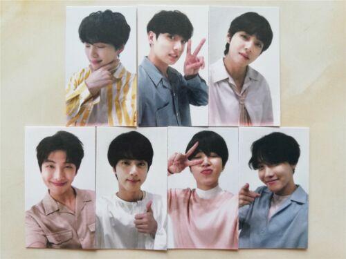 BTS Bangtan Boys Photo Card Jin SUGA jhope Jimin Jung Kook RM V Unofficial