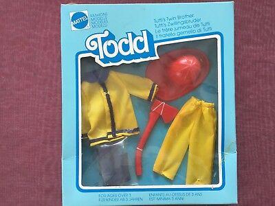 "very rare NRFB European barbie Todd outfit # 2654 ""Vatis Helfer"" 1976"
