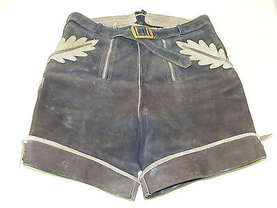 Beautiful Old Kids Youth Leather Trousers