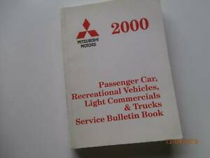 Mitsubishi Service Bulletins 2000 Tarago Goulburn City Preview