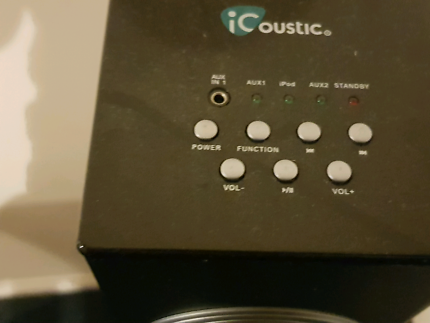 Wanted: Icoustic speakers