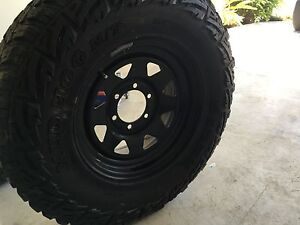 Sunraysia rims with tyres Warner Pine Rivers Area Preview