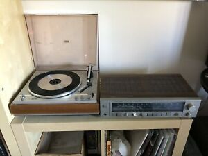 Complete System: Turntable, Receiver & Wharfedale Speakers
