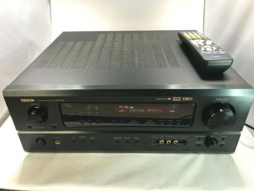 Denon AV Surround Receiver AVR-1803 5.1 Channel 110 Watt Bundle *TESTED, NICE