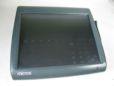Micros Workstation 5a 400814-122 Posready Pos Touchscreen Terminal N450 1.66ghz
