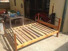 Wooden Queen Size Bed Frame Botany Botany Bay Area Preview