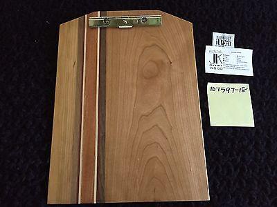 New Exotic Wood Clip Board Walnut Cherry Maple Mahogany Purple Heart 107597-18