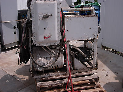 USED 2 piece HYDRAULIC/ELECTRIC  10,000 lb. WINCH   230/460 VOLT 3 PHASE