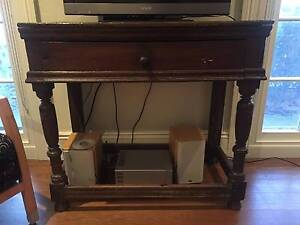 Antique wood side table Woollahra Eastern Suburbs Preview