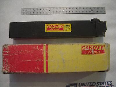 New Sandvik Coromant T-max Lh Cskpl 2525m 12 Lathe Carbide Insert Holder