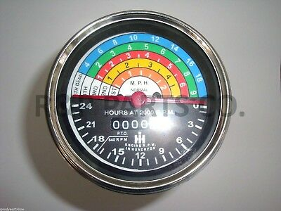 Tachometer For Farmall Ih Utility 340 Gas