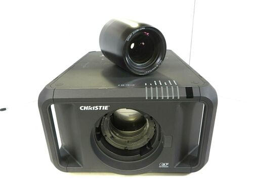 Christie DHD800 Dual Lamp DLP Projector HDMI 8000 ANSI lumens Lens Included