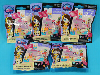5x Littlest Pet Shop Bags & Shoes Series 4 Mystery Blind (Littlest Pet Shop Blind Bags Series 4)