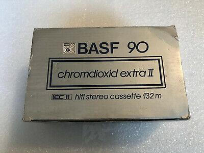 BASF  353  CR  II LIVE  90             BLANK CASSETTE TAPE 1 SEALED