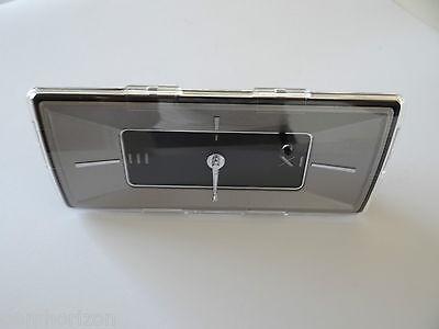 2007-2013 Cadillac Escalade Escalade ESV Roman Numeral Dash Clock OEM 25949881