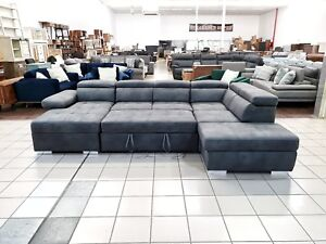 AMANDO V SOFA BED W/CHAISE AND STORAGE Rochedale Brisbane South East Preview