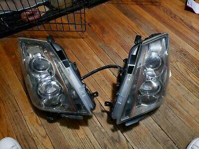 2008-2014 Cadillac CTS CT-S  Halogen Projector Headlight Pair oem