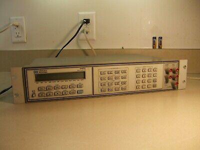 Hp Agilent 3457a 6.5 Digit 6 12 Digit Multimeter Dmm