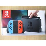 Nintendo Switch - 32GB Gray Console (with Neon Red/Neon Blue Joy-Con)