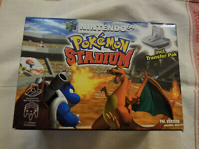 Pokemon Stadium (N64) Boxed with Transfer Pac