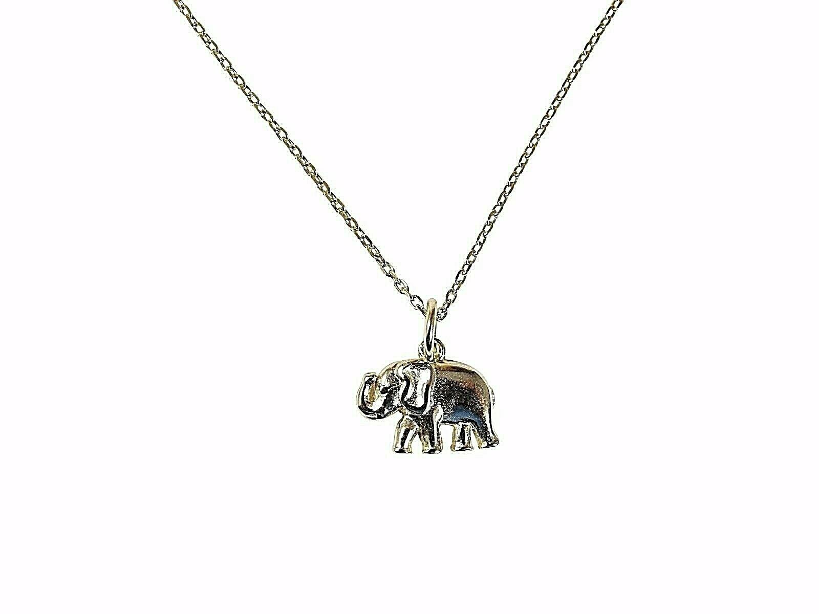 Martinuzzi Accessories Elephant Pendant Necklace 925 Sterling Silver