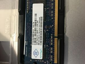 Two 4GB DDR3 Memory SO-DIMM PC3L