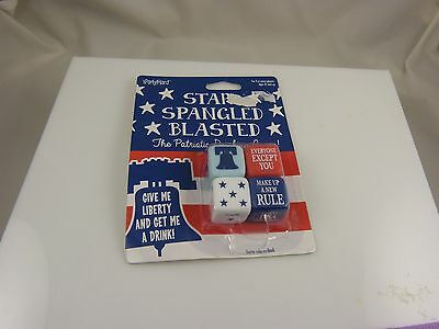 star spangled blasted dice partys game Joke gag  drinking game 4th of july - 4th Of July Party Games