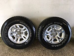 Two 255/70R16 Tires / Rims in great shape !!!