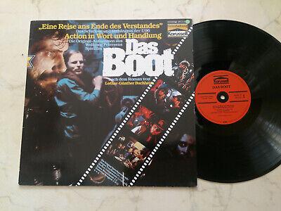 DAS BOOT Original-Aufnahmen aus dem Spielfilm *VINYL LP*NM* Das Boot Spiel