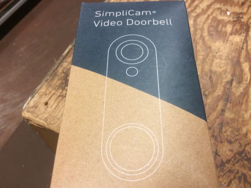 simplisafe simplicam Video Doorbell