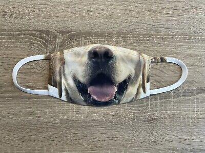 Mundschutz Maske Hund Labrador