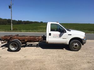 2004 Ford F450 cab and chassis