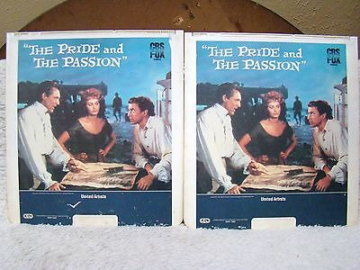 Ced Videodisc The Pride And The Passion  1957  Part 1   2 United Artists Cbs Fox