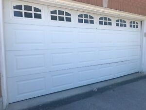 (White) garage  door for sell